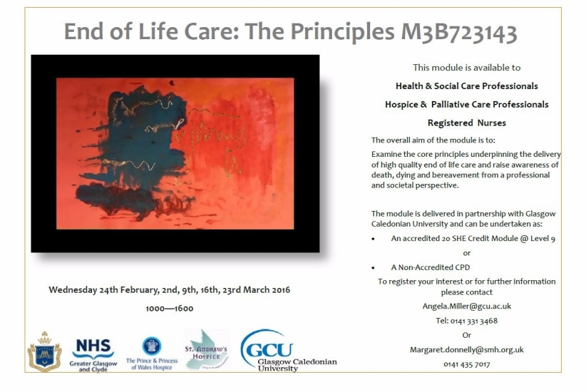 Poster – End of Life Care – The Principles