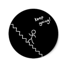 keep going stairs